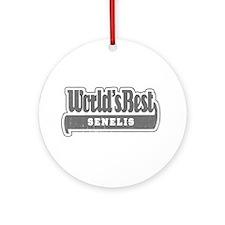 WB Grandpa [Lithuanian] Ornament (Round)
