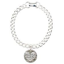 Pearls, Dog Tags Bracelet