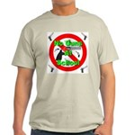 No Guns At School Light T-Shirt