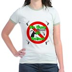 No Guns At School Jr. Ringer T-Shirt