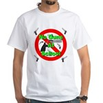 No Guns At School White T-Shirt
