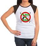 No Guns At School Women's Cap Sleeve T-Shirt