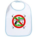 No Guns At School Bib