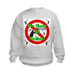 No Guns At School Kids Sweatshirt