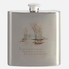 Winter Poem Flask