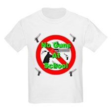 No Guns At School T-Shirt