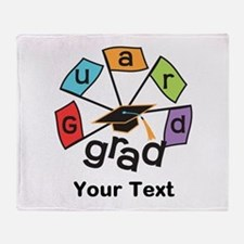 Customize Guard Grad Flags Throw Blanket