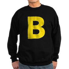 Letter B Yellow Sweatshirt