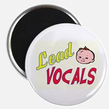 "LEAD VOCALS 2.25"" Magnet (10 pack)"
