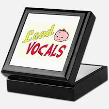 LEAD VOCALS Keepsake Box