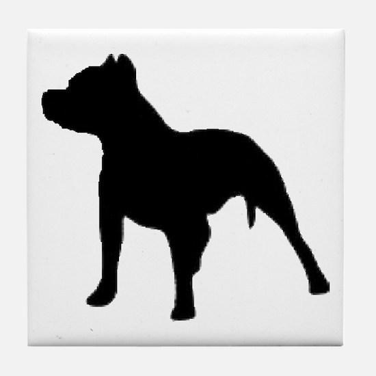 pitbull 1C Tile Coaster
