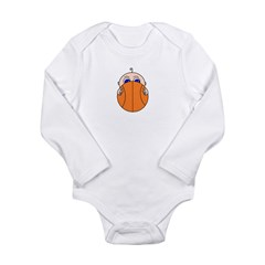 Baby Peeking Basketball Body Suit