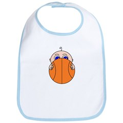 Baby Peeking Basketball Bib