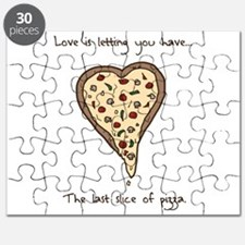 Love is... pizza Puzzle