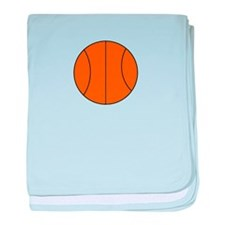 Basketball Belly baby blanket