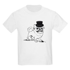 Pug with top hat T-Shirt