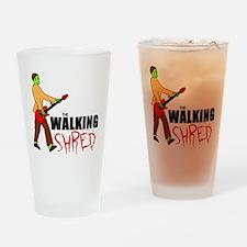 Walking Shred Drinking Glass