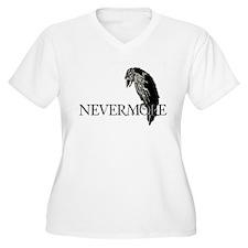 Nevermore Plus Size T-Shirt