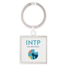INTP Square Keychain