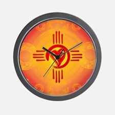 DESERT SUNSET ZIA LOVE! Wall Clock