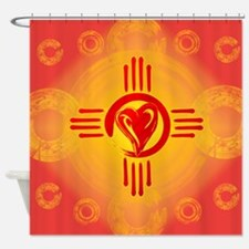 DESERT SUNSET ZIA LOVE! Shower Curtain