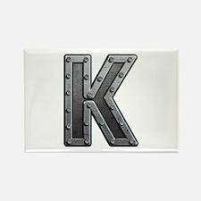K Metal Rectangle Magnet