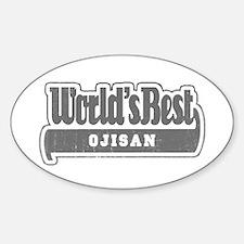 WB Grandpa [Japanese] Oval Decal
