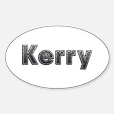 Kerry Metal Oval Decal