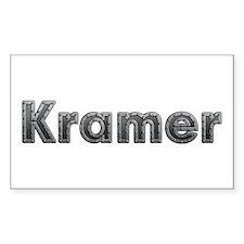 Kramer Metal Rectangle Decal