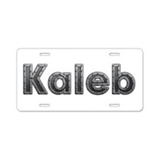 Kaleb Metal Aluminum License Plate