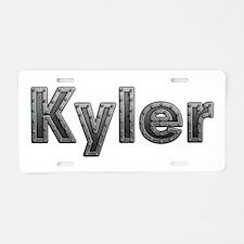 Kyler Metal Aluminum License Plate