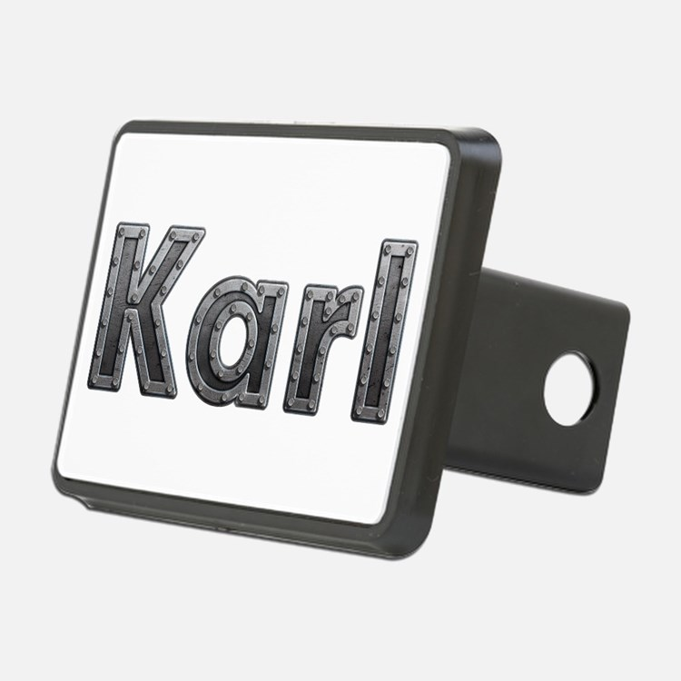 Karl Metal Hitch Cover