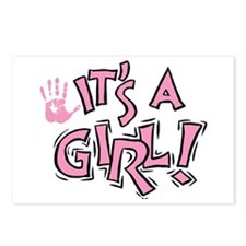 It's A Girl Postcards (Package of 8)