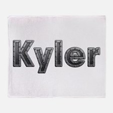 Kyler Metal Throw Blanket