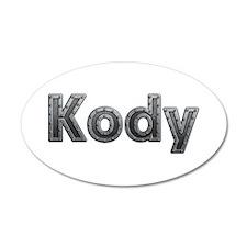 Kody Metal Wall Decal