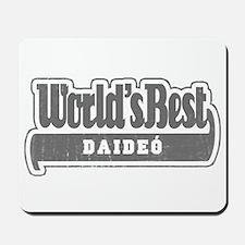 WB Grandpa [Irish Gaelic] Mousepad