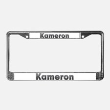 Kameron Metal License Plate Frame
