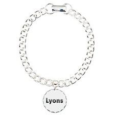 Lyons Metal Charm Bracelet