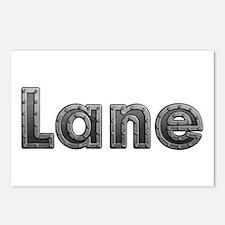 Lane Metal Postcards 8 Pack