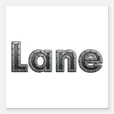 Lane Metal Square Car Magnet