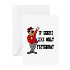 YESTERDAY Greeting Cards (Pk of 10)