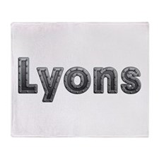 Lyons Metal Throw Blanket