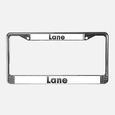 Lane Metal License Plate Frame