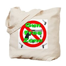 Gun Free Zone Tote Bag