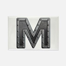 M Metal Rectangle Magnet