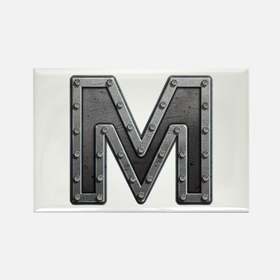 M Metal Rectangle Magnet