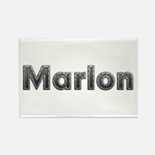 Marlon Metal Rectangle Magnet