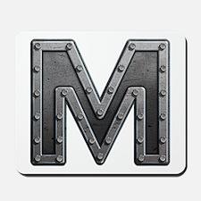 M Metal Mousepad
