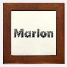 Marlon Metal Framed Tile