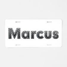Marcus Metal Aluminum License Plate